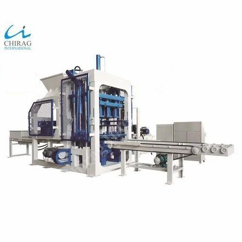 Solid Chirag Fully Automatic Hydraulic Brick Making Machine