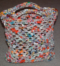 Multicolor Recycled Plastic Bags, Capacity: Upto 50 Kgs