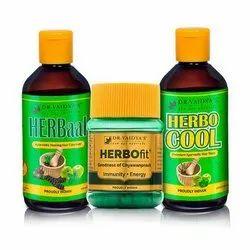 Ayurvedic Anti Hair Fall Combo Pack, Capsule and Oil