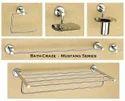 Bathcraze Stainless Steel Chrome Plated Bathroom Set - Mustang