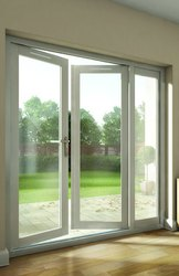UPVC Hinged Glass Door