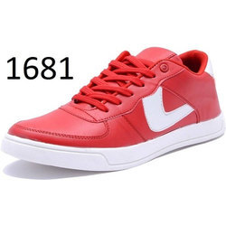 Mens Red Lace Up Shoes