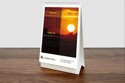 Desk Printed Calendar