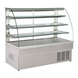 4 Shelves Curved Sweet Display Counter
