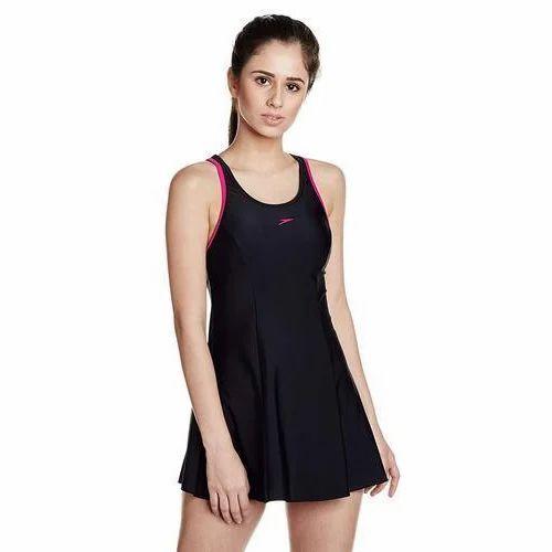 f7a28151825 Girls Black Swimming Costume