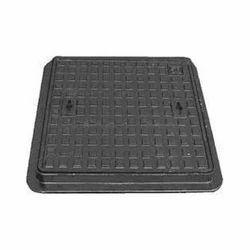 Black SFRC Square Manhole Cover