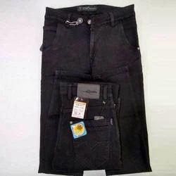 Hanex Faded Black Denim Jeans