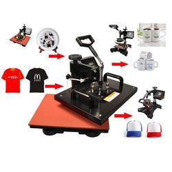 6 In 1 Heat Flat Press Machine