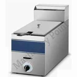 1-Tank 1-Basket Gas Fryer(8 L)