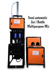 Semi Automatic Pet Jar Cum Bottles Machines Up To 5 Liter