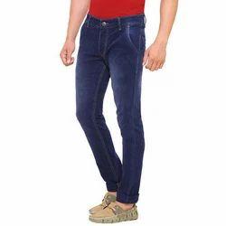 Dark Blue Cotton Jeans