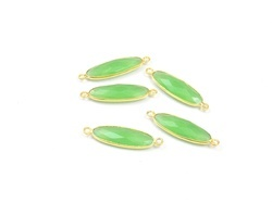 Prehnite Gemstone Jewelry