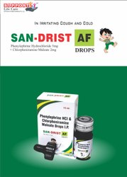 Chlorpheniramine Maleate 2mg  Phenylephirine Hcl 5mg DROP