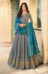 Glossy Simar Amyra Anubha Anarkali Type Salwar Kameez