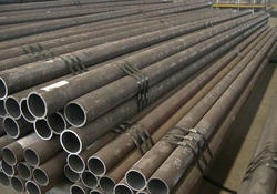 Round(head) 80-100 Mm MS Pipe, Thickness: 1-5 Mm