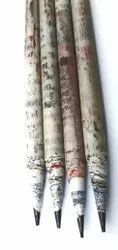 Newspaper Paper Pencil, Packaging Size: 10pcs