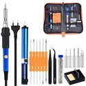Soldering Iron Kit Adjustable Temperature 60w