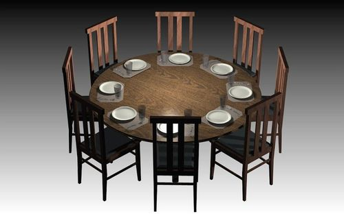 8 Seater Dinning Table Round Dining Manufacturer
