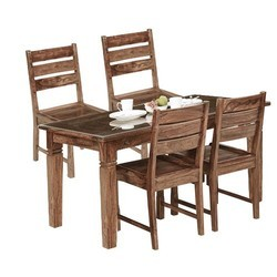 4cd8979a03e6 Wooden Dining Table Set in Indore, लकड़ी का डाइनिंग ...