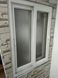 White Powder Coated Aluminium Window & Door, Thickness: 3 Mm, Material Grade: High