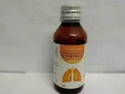 Terbutaline Sulphate 1.25mg  Guaiphenesin 50mg  Amroxol 15 Mg Syrup
