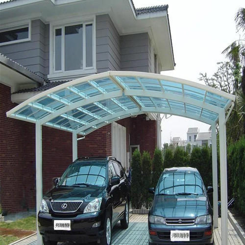 Polycarbonate Car Shelter & Polycarbonate Car Shelter at Rs 80 /square feet | Polycarbonate ...