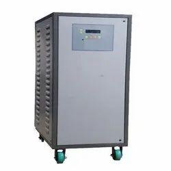 Automatic Mild Steel Single Phase Servo Voltage Stabilizer, 160-280 V