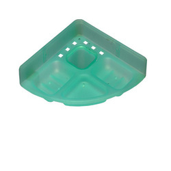 Sanya ABS 5IN1 Soap Dish, Size: 12x12