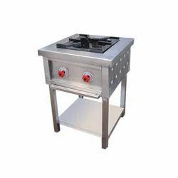 Stainless Steel Commercial Single Burner Range