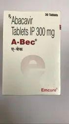 A-Bec 300mg (Abacavir) Tablets