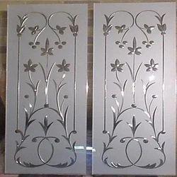 Transparent Glass Art Product