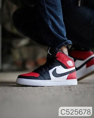 Colour In Picture Leather Nike Air