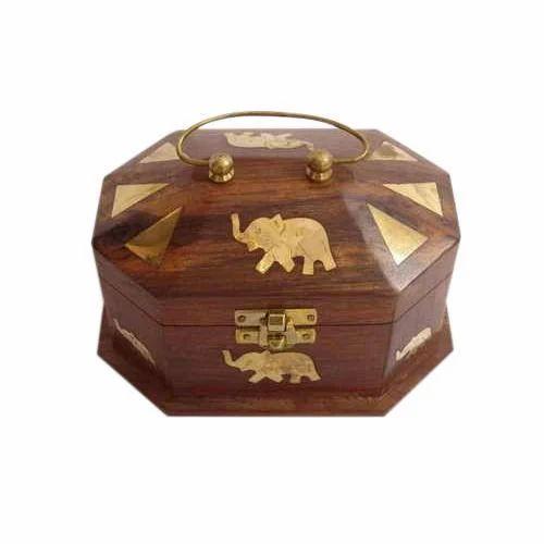 Antique Wooden Jewellery Box Miglani Handicrafts Manufacturer