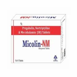 Pregabalin Nortriptyline and Mecobalamin SR Tablets