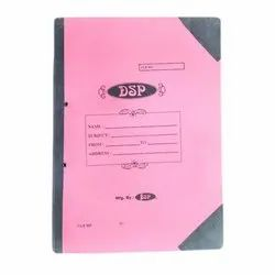 DSP Pink Stationery Corner Spring File, Packaging Type: Packet
