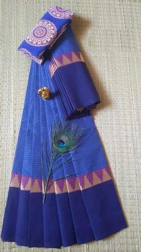 6544853774 Cotton Chettinad Saree, With Blouse, Rs 799 /piece, Nomano   ID ...