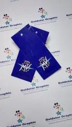 Art Card Paper Garment Tags, Size/Dimension: Normal, Packaging Type: Packet