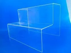 Acrylic Footwear/Product Display Stand ( 2-Tier)