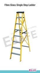 Fibreglass Single Step Ladder