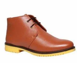 Bata Men Brown Boots, Size: 7
