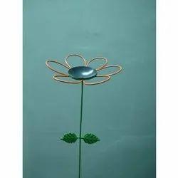 TNZ Creations Metal Flower Garden Stake
