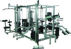 FITNESS AIM Mild Steel Multigym 16 Station, for Gym