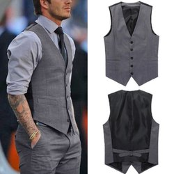 Corporate Formal Waist Coat, Size: L