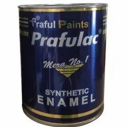 Prafulac PU Enamel Paint, Packaging Type: Tin