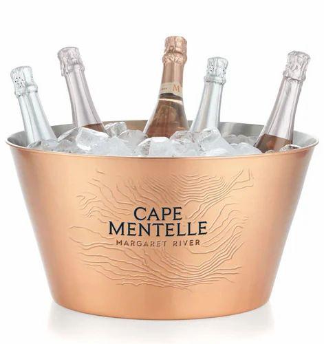Nice Antique Wine /champagne Bucket Decorative Arts