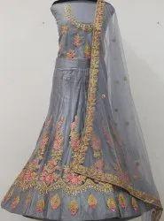 Net Embroidery Chaniya Choli