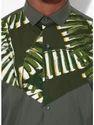 Designer Olive Full Sleeve Men Casual Cotton Shirt
