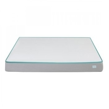 White Nubliss NX Gen Memory Foam Mattress Queen Size 6 Inch Rs