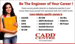 Part Time certificate Educational Institutions, Indore, Cadd Centre