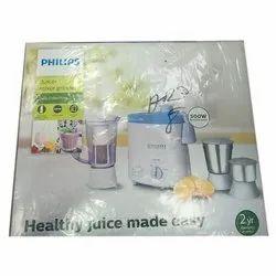 White Philips Juicer Mixer Grinder, Capacity: 3 Jars